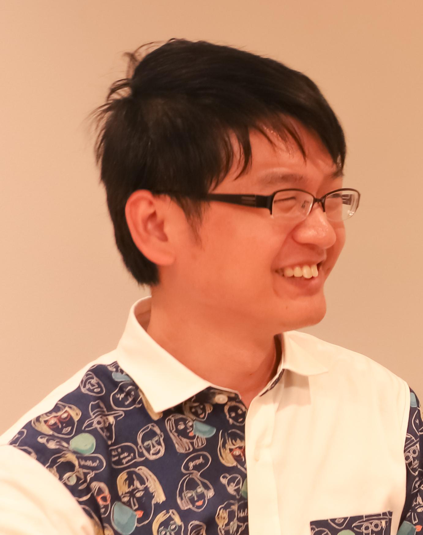 登場人物: ハーチ株式会社 コンテンツマーケター ロジャー・オングさん