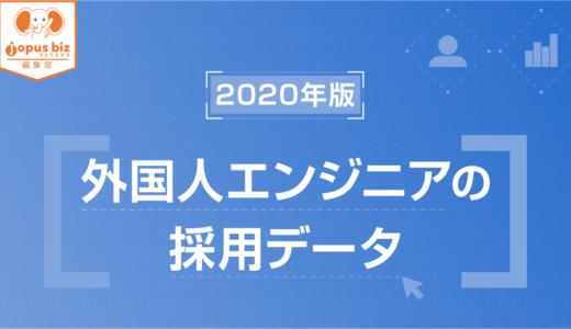 【2020年版】外国人エンジニア 採用データ